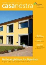 Nullenergiehaus im Eigenbau - Hausverein