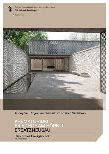 Jurybericht - Bau- und Verkehrsdepartement | Hochbauamt - Basel ...