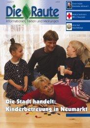 Die Stadt handelt: Kinderbetreuung in Neumarkt - CSU ...
