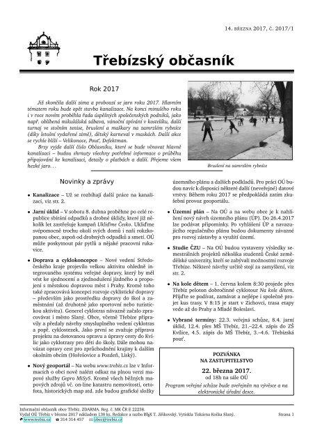 Třebízský občasník 2017/1