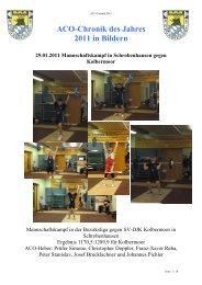 Chronik 2011, in Bildern - beim Bürgernetz Neuburg-Schrobenhausen