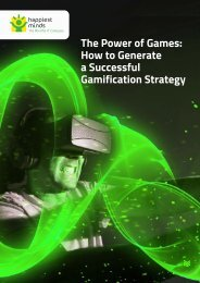 The Power of Games How to Generate a Successful Gamification Strategy
