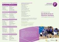 Sporthelfer/innen in Nordrhein-Westfalen - Sichere Schule