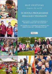 SCHOOLS PROGRAMME RHAGLEN YSGOLION