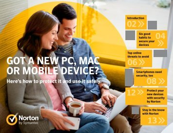 GOT A NEW PC MAC OR MOBILE DEVICE?