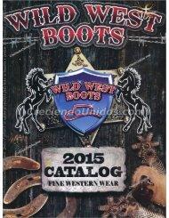 #560 Catálogo Wild West Boots – Botas, Sombreros y Accesorios Vaqueros 2017