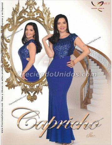 #570 Catálogo Capricho Volumen 11 La Ropa mas Femenina en USA