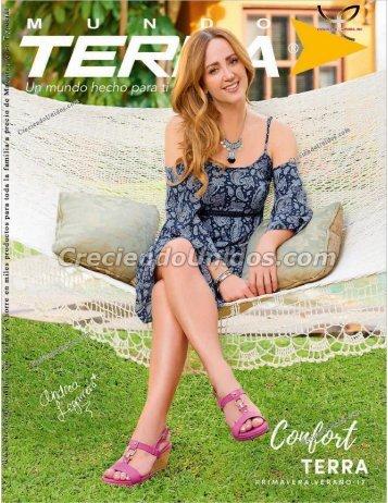 #557 Mundo Terra Confort Calzado para mujer Terra Primavera Verano 2017