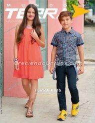 #558 Mundo Terra Kids calzado para ninos Primavera Verano 2017