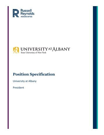 Position Specification