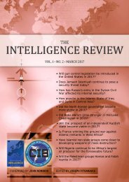 The Intelligence Review | volume 1 | issue 2 |