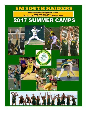 SM SOUTH RAIDERS 2017 SUMMER CAMPS