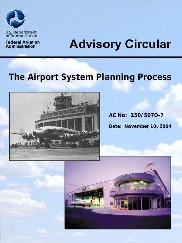 150/5070-7 - FAA