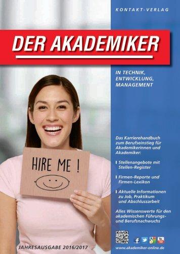 Der Akademiker, Jahresausgabe 2016/2017