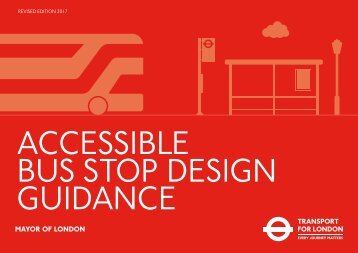 ACCESSIBLE BUS STOP DESIGN GUIDANCE