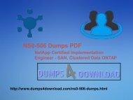 Free Network NS0-506 Dumps - Dumps4download.com