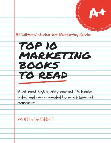 Top 10 Marketing Books to Read