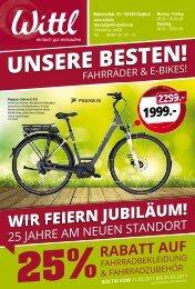 Wittl Fahrrad 2017