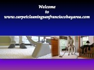 San Francisco Carpet Cleaning Service