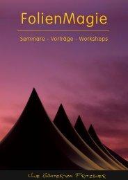 FolienMagie Seminar-Programm 2017