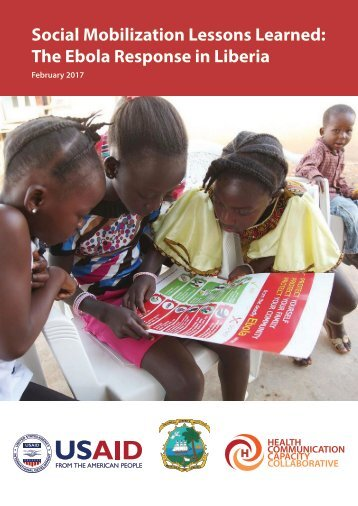 Social Mobilization Lessons Learned The Ebola Response in Liberia