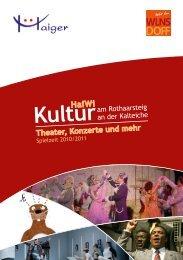 Theater, Konzerte und mehr - Wilnsdorf