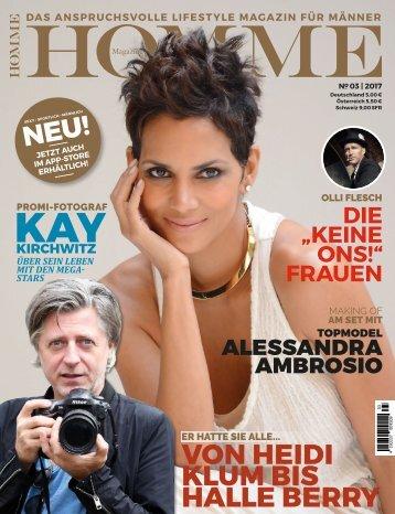 HOMME MAGAZINE Ausgabe 03/2017