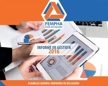 INFORME FEMPHA 2016