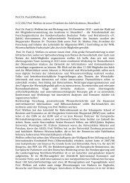 Prof. Dr. Paul JJ Welfens etc. 5.12.2012 Prof. Welfens ist neuer - EIIW