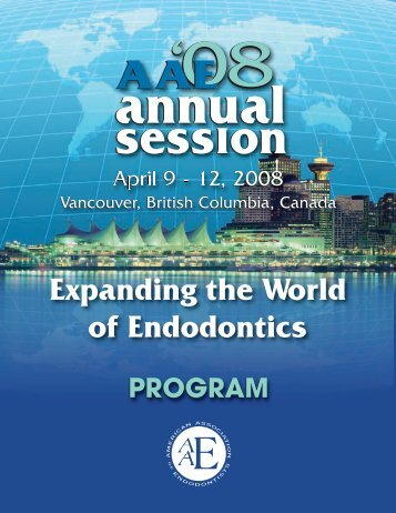 Educational Sessions - American Association of Endodontists