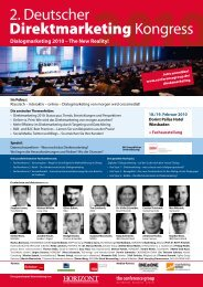 programm - The Conference Group GmbH