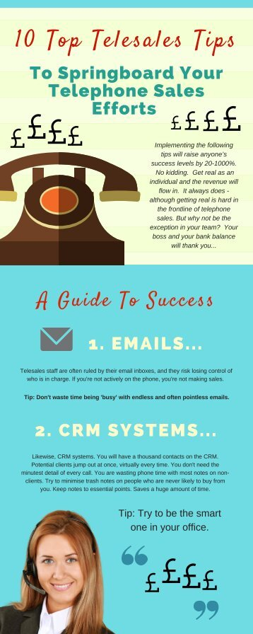 top telesales training tips to help you succeed