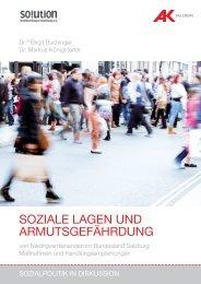 Studie downloaden (pdf 2,0 mb) - AK - Salzburg