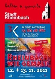 November 2011 - Stadt Rheinbach