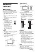 Sony KDL-20S4000 - KDL-20S4000 Istruzioni per l'uso Slovacco - Page 7