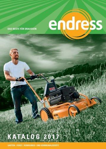 Endress Motorgeraete Katalog 2017