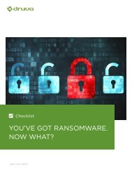 YOU'VE GOT RANSOMWARE NOW WHAT?