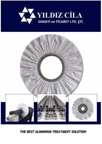 Yildiz Cila_Flyer for Aluminium