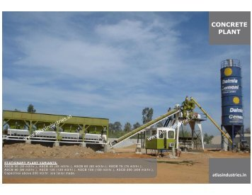 Stationary Concrete Batching Plant in Nigeria