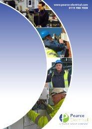 Pearce Electrical - 2015 Brochure