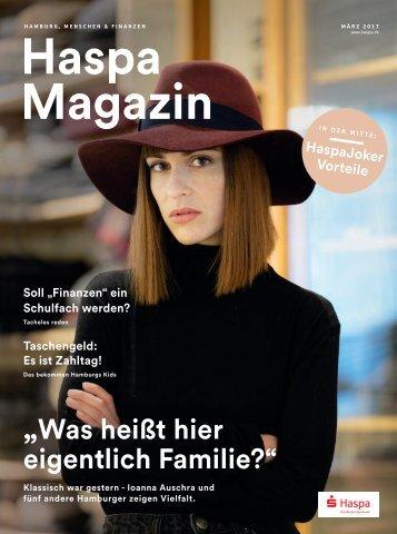 Haspa Magazin 01/17