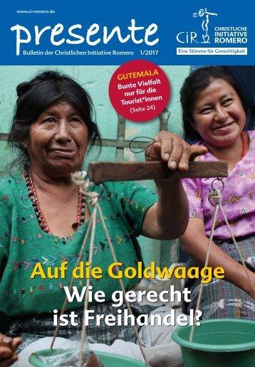 Auf die Goldwaage - Wie gerecht ist Freihandel?