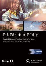 Frühlings- und Sommerangebote von Ihrem Autohaus Schmolck
