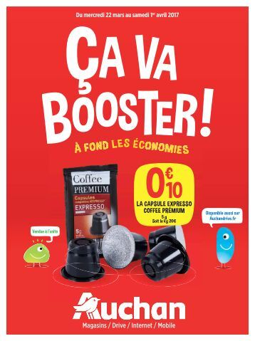 Auchan 2017 Mars4 catalogue