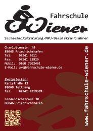 Fahrschulplaner Fahrschule Wiener
