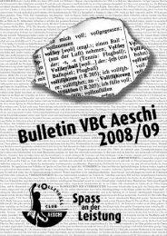 herren 5, 4. liga - Volleyballclub Aeschi