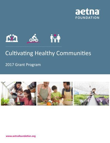 Cultivating Healthy Communities