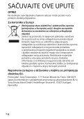 Sony HVL-F32M - HVL-F32M Istruzioni per l'uso Croato - Page 4