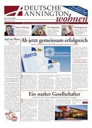 Ausgabe November 2005 [ PDF ; 2,5 MB ] - Deutsche Annington