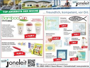 Top-Angebote der Woche bei Joneleit in Schwalmstadt